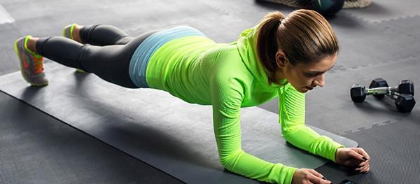 Упражнение планка для девушек