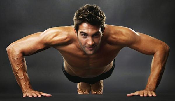 отжимание для грудных мышц