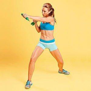 Упражнение для мышц живота
