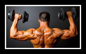Тренировка плеч для мужчин