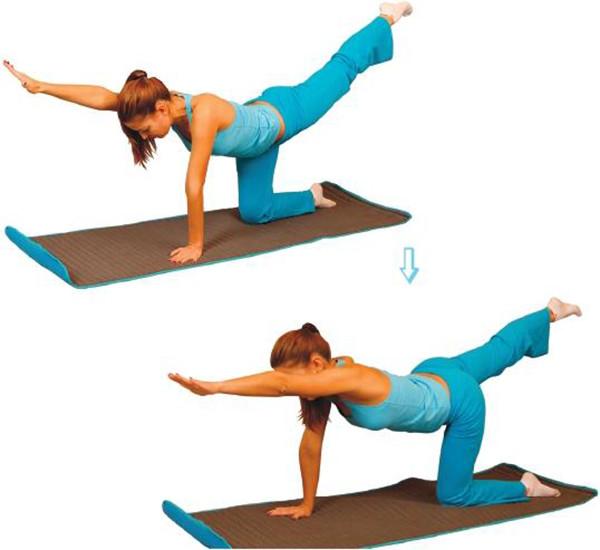 Упражнение в статике для спины