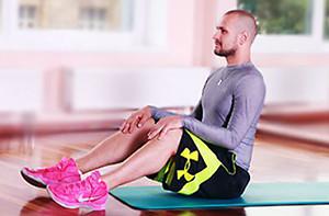 Упражнение v-стабилизация