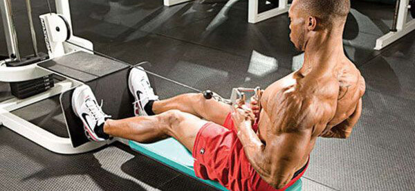 Рычажная тяга в тренажере техника выполнения какие мышцы работают