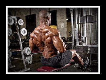 Упражнение горизонтальная тяга в блочном тренажере для спины