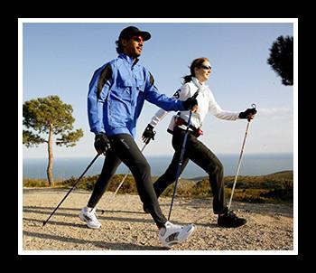 Скандинавская ходьба: как правильно ходить