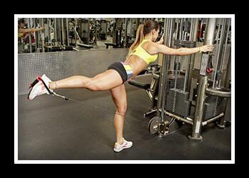 Упражнения для ягодиц в тренажерном зале фото
