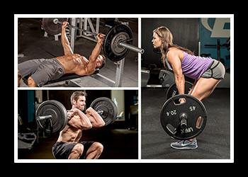Подборка базовых упражнений для набора мышечной массы