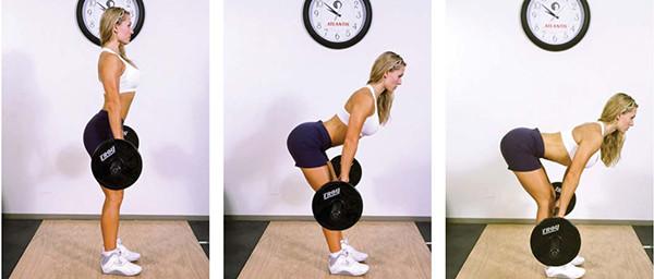 Базовое упражнение румынская тяга