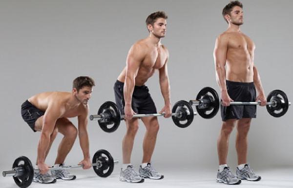 Базовое упражнение - становая тяга