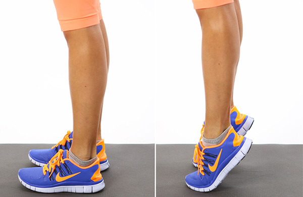 Подъемы на носки