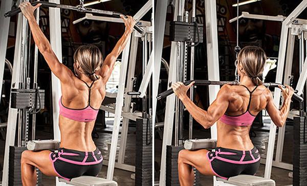 Тяга верхнего блока - базовое кпражнение