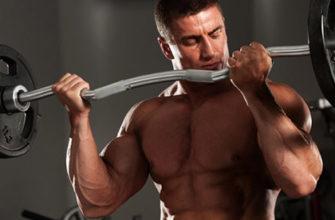 Тренировка в зале для мужчин фото