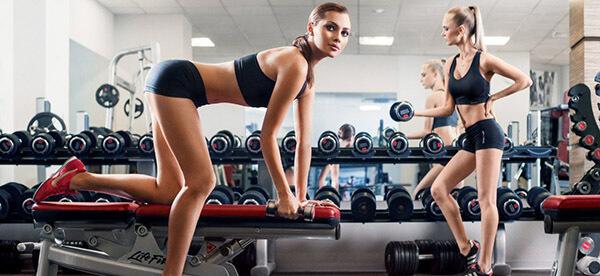 Тренировка в зале для девушек фото