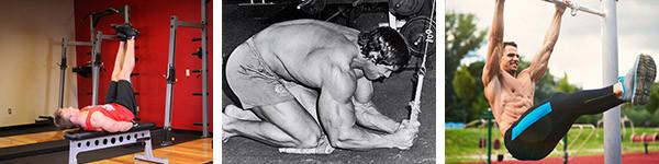 Суперсет для абдоминальных мышц