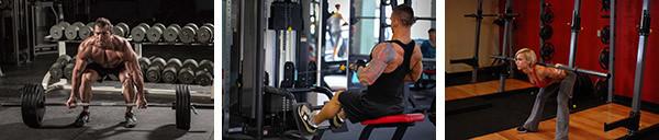Суперсет для мышц спины