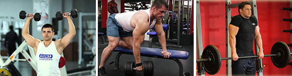Тренировка суперсетами мышц плеч и трапеции