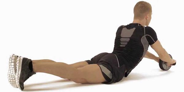 Упражнения с роликом для начинающих