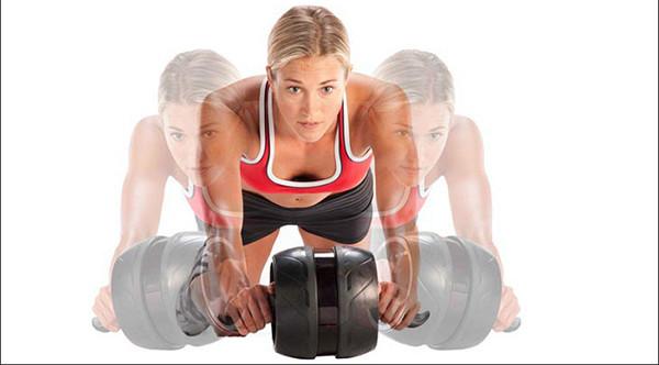 Упражнения с роликом для косых мышц живота