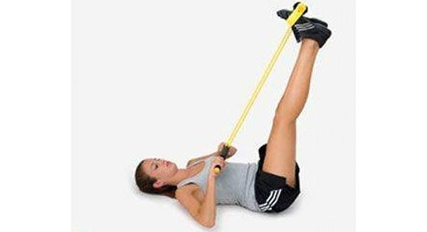 Упражнение маятник с лентой