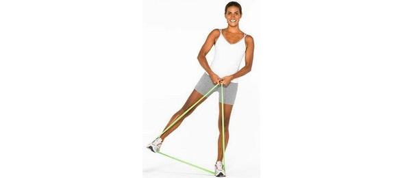 упражнение вертикальный маятник с эластичной лентой