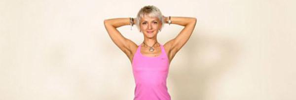 Растяжка мышц груди