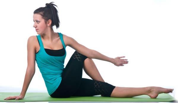 Развороты корпуса для спины