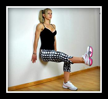 Техника упражнения стульчик у стены