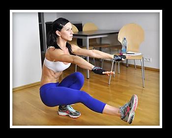Упражнение пистолетик для ягодиц и ног