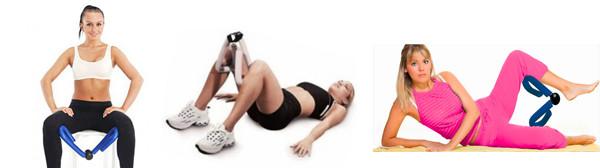 Упражнения для бедер с эспандером