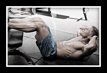 Комплекс упражнений для пресса в тренажерном зале для мужчин