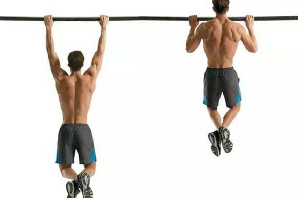 Подтянивания для мужчин для спины