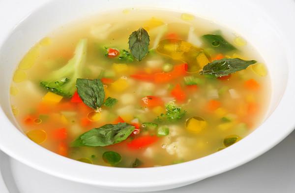 Суп на сушке тела