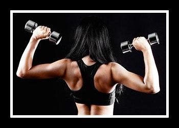 Упражнения на плечи девушкам