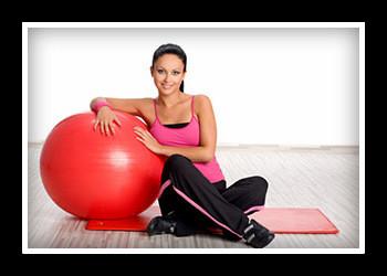 Комплекс лучших упражнений на гимнастическом мяче