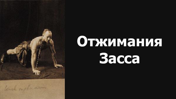 Отжимания с цепью Александра Засса