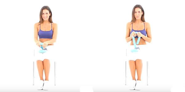 Упражнение на трицепс с Тай Мастер