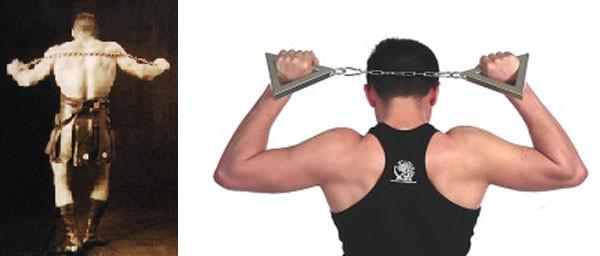 Упражнения для трицепсов и груди с цепью
