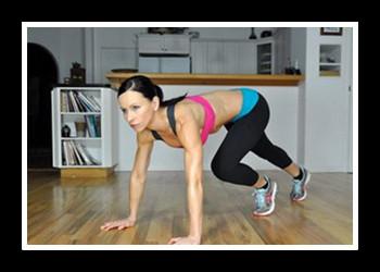 Упражнения скалолаз