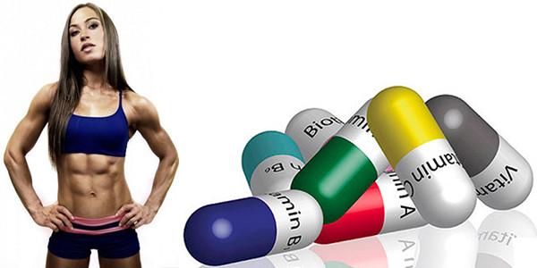 Женские спортивные витамины