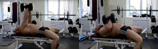 Жим Свенда лежа на скамье