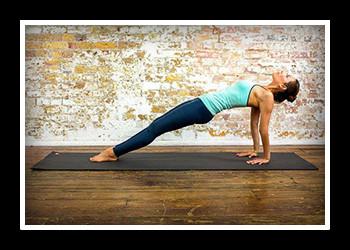Обратная планка упражнение