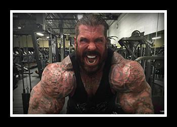 Рич Пиана — бодибилдер-фрик и «стероидный монстр»