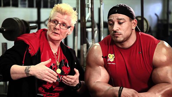 Ролли Винклаар с тренером