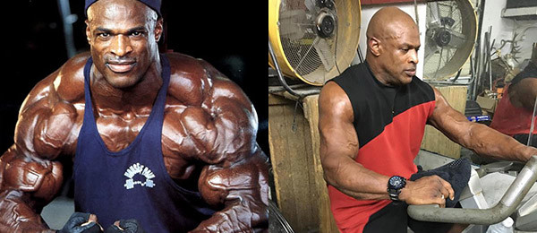 Ронни Колеман до и после операции