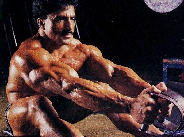 Тренировка Самир Баннута