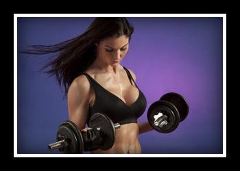 Тренировка с гантелями для похудения