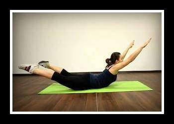 Упражнение «лодочка» для укрепления спины и упругости ягодиц