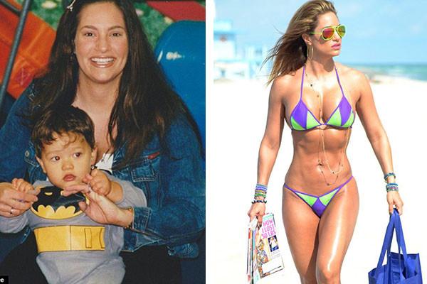 Дженнифер Николь Ли до и после похудения