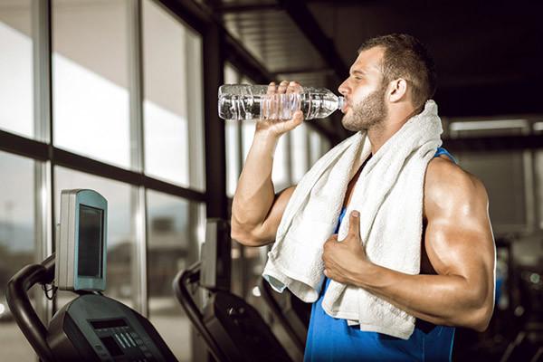Вода при тренировках