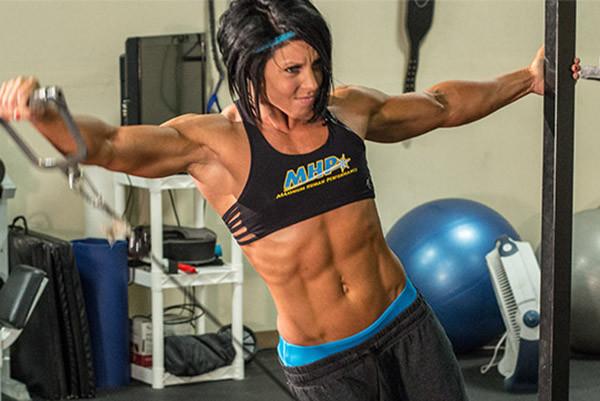 Dana Linn Bailey тренировка